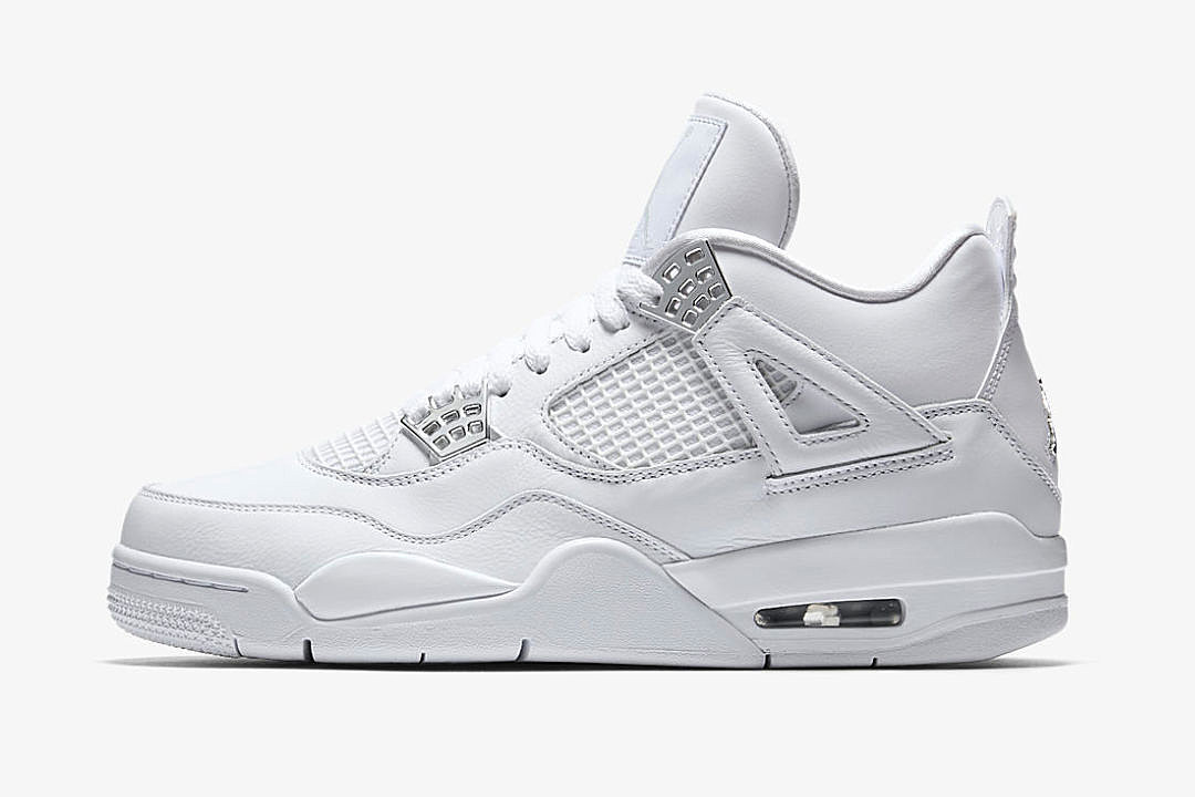 air jordan 4 retro pure money to release this weekend xxl. Black Bedroom Furniture Sets. Home Design Ideas