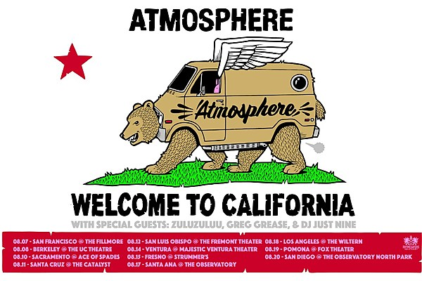Welcome To California Tour Atmosphere
