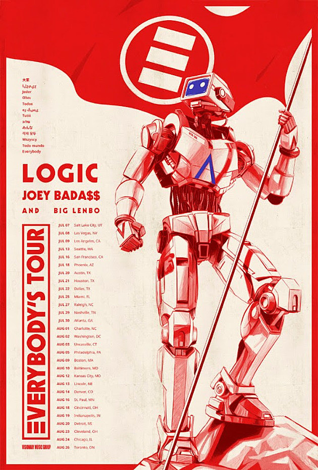 Logic Going On Tour