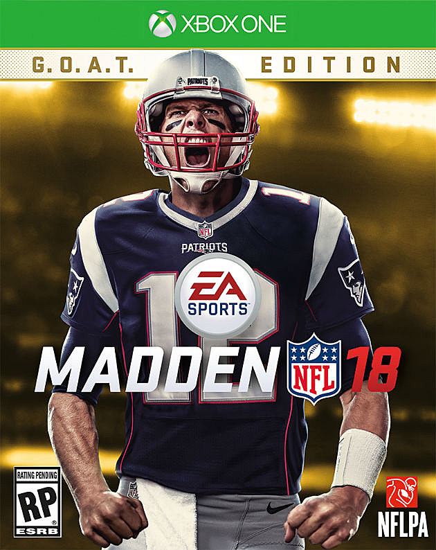 Patriots' Tom Brady named cover athlete of Madden 18