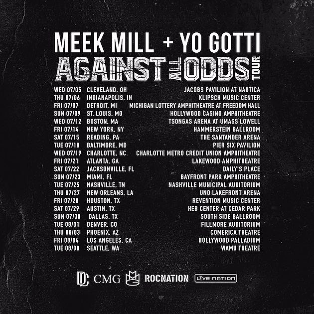 Meek Mill Yo Gotti Tour Dates
