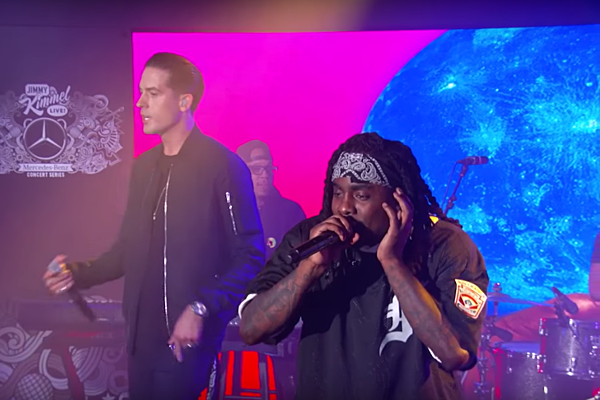 wale and g eazy perform fashion week on jimmy kimmel live xxl