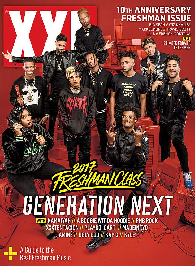 Xxl Freshman 2007 XXL Freshman 2017 Cove...