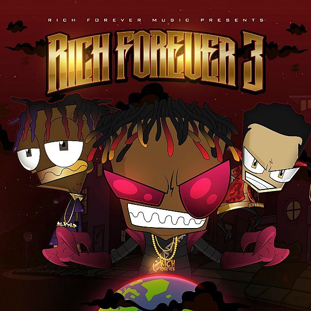 Rich The Kid, Famous Dex and Jay Critch Release 'Rich Forever 3' Mixtape -