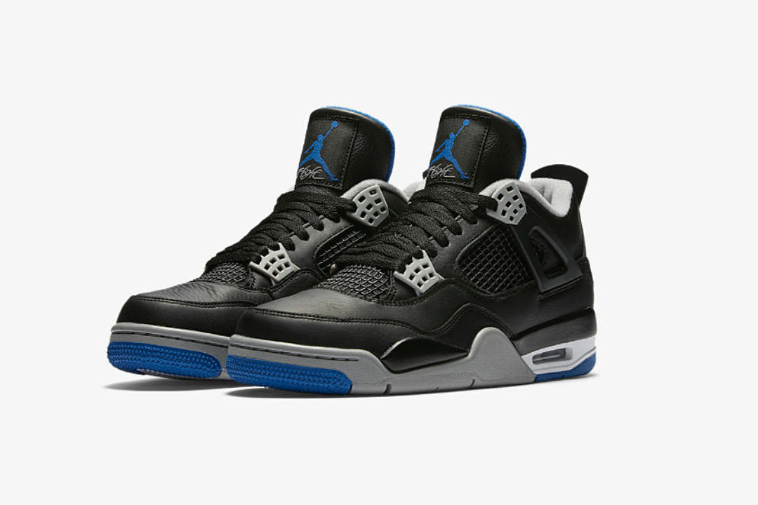 Air Jordan 4 Motorsport Away to Release Later This Month - XXL