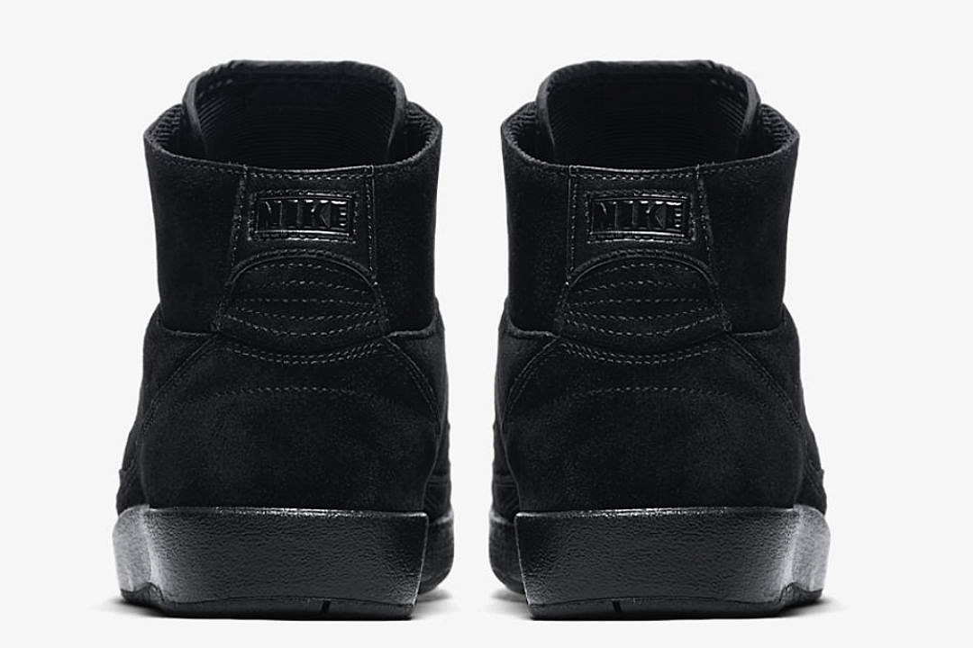 air jordan 2 retro decon triple black