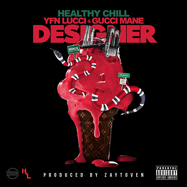 Gucci Mane and YFN Lucci Join Healthy Chill for New Song 'Designer' -