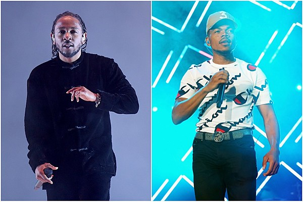 ae6d8a073 Kendrick Lamar Brings Out Chance The Rapper at Damn Tour Stop in Chicago.  XXL Mag