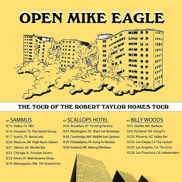 Open Mike Eagle Announces Tour  the Robert Taylor Homes Tour