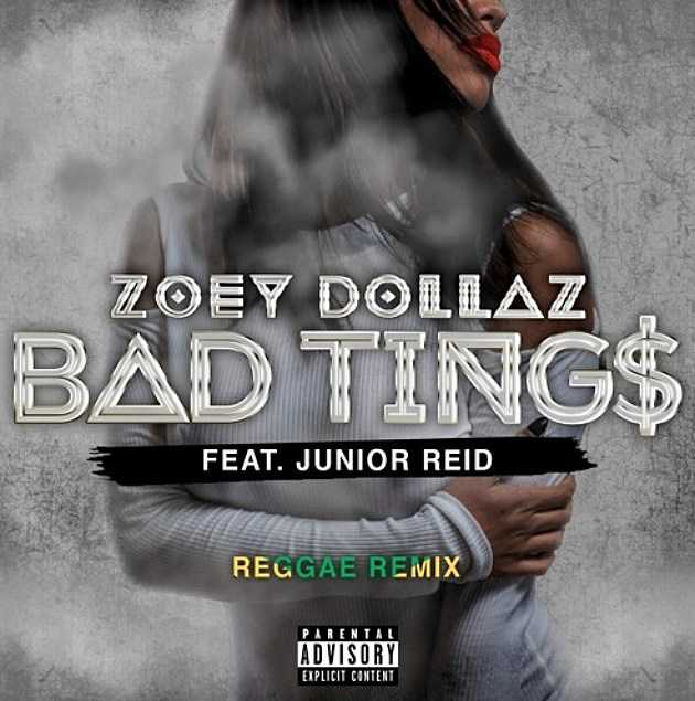Zoey Dollaz Is Joined By Junior Reid for