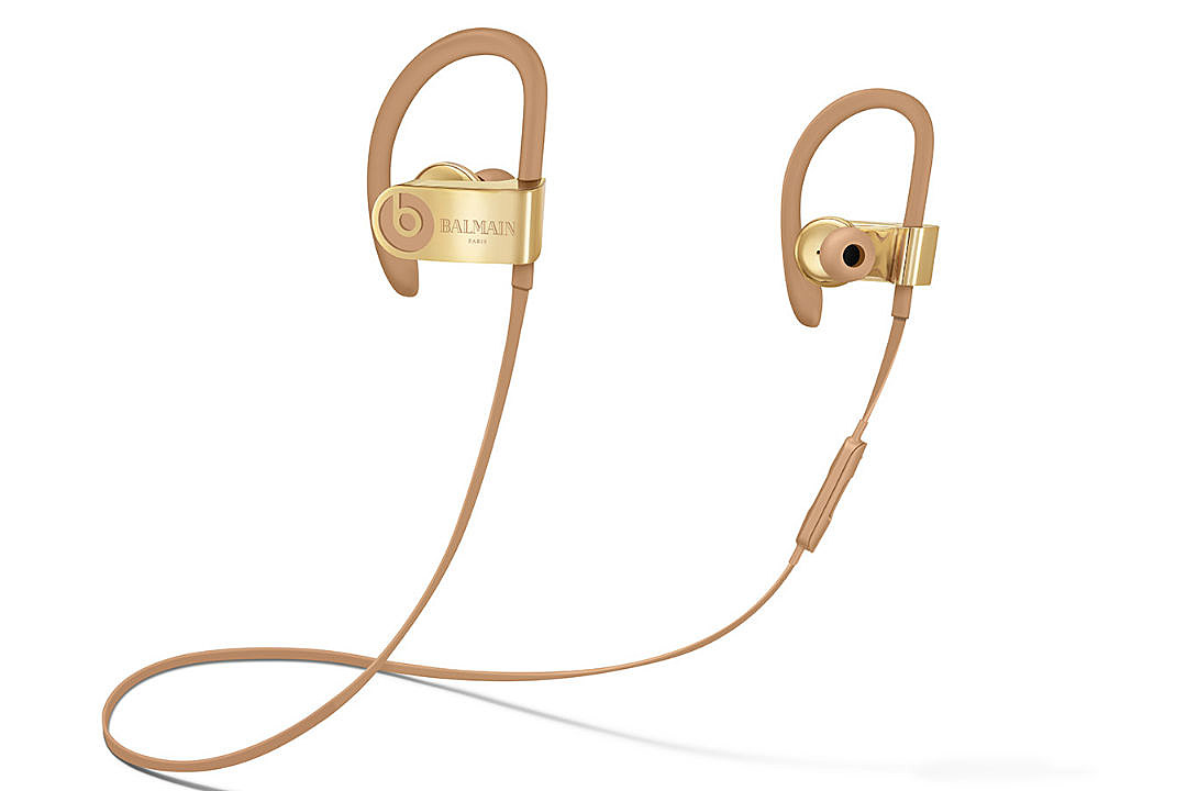 Apple Partners With Balmain on Special Edition Beats Studio and Powerbeats3