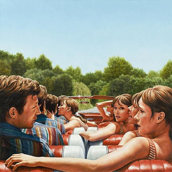 1961 Ford Galaxie 500 Sunliner (Pierrot Le Fou) by Eric White