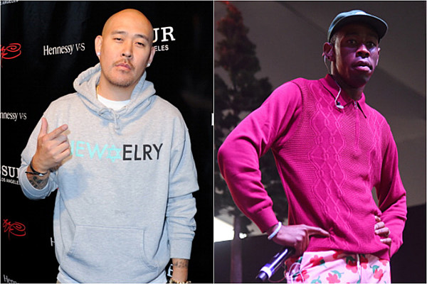 ben baller shows off new flower boy chain he created for