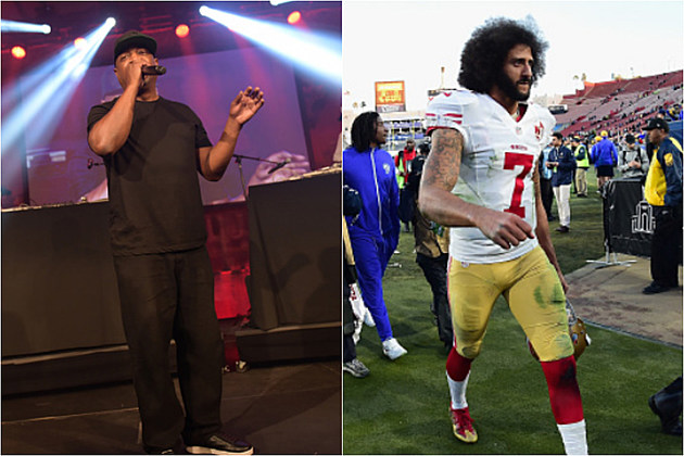 Chuck D Says Fans Upset With the Colin Kaepernick Situation Should Boycott the NFL