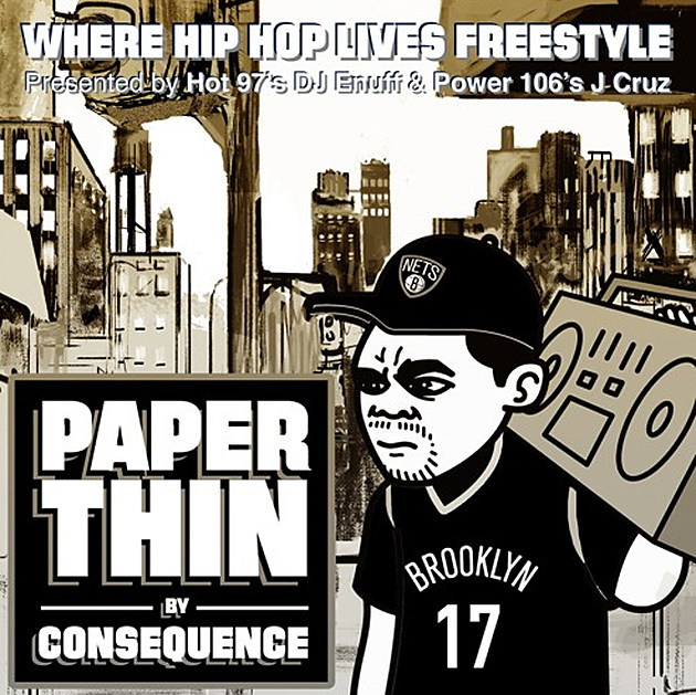 Consequence Delivers a Freestyle Over MC Lyte's 'Paper Thin' -