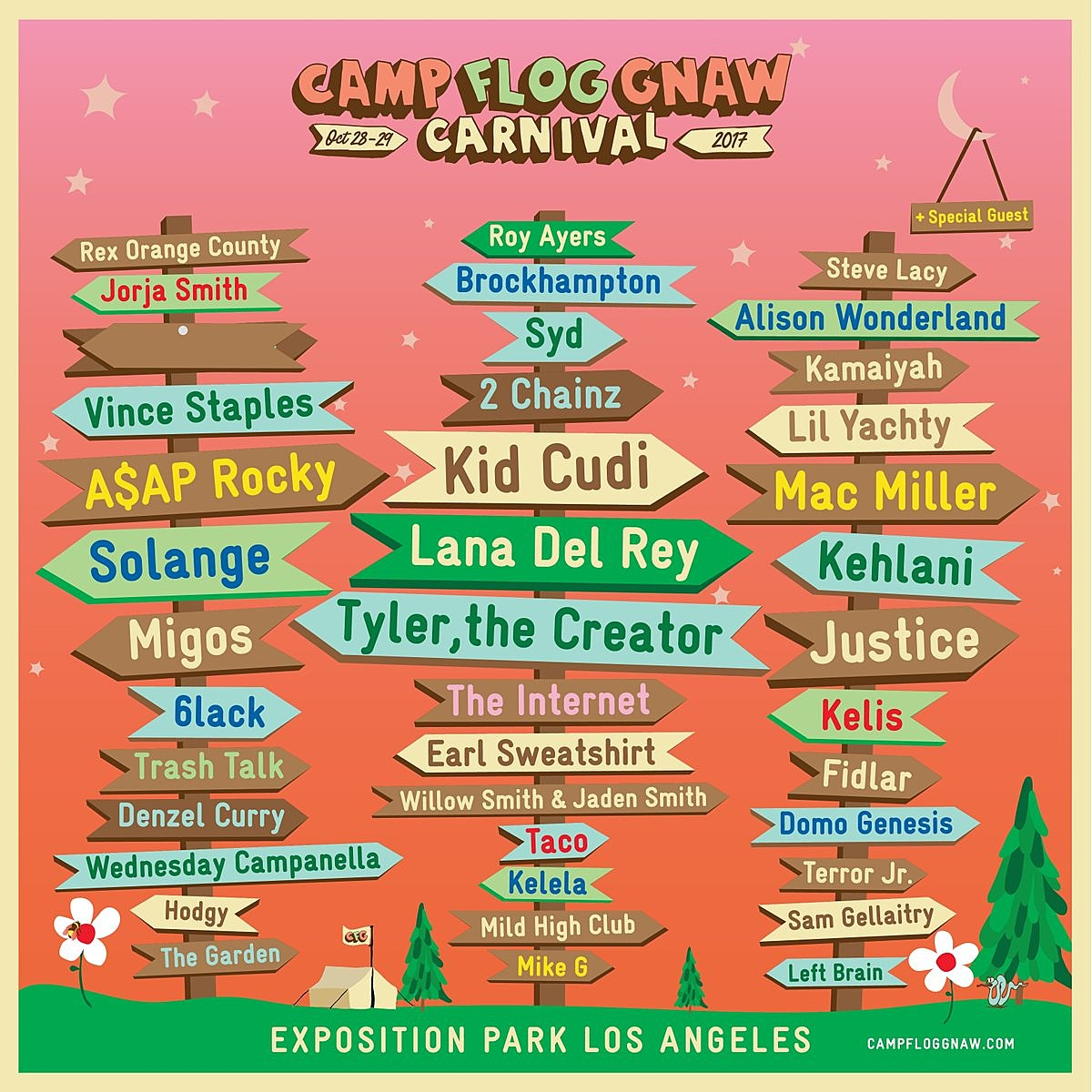 Camp Flog Gnaw Lineup Twitter