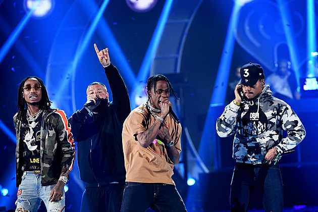 DJ Khaled Brings Out Chance The Rapper, Travis Scott, Quavo and More at 2017 iHeartRadio Music Festival