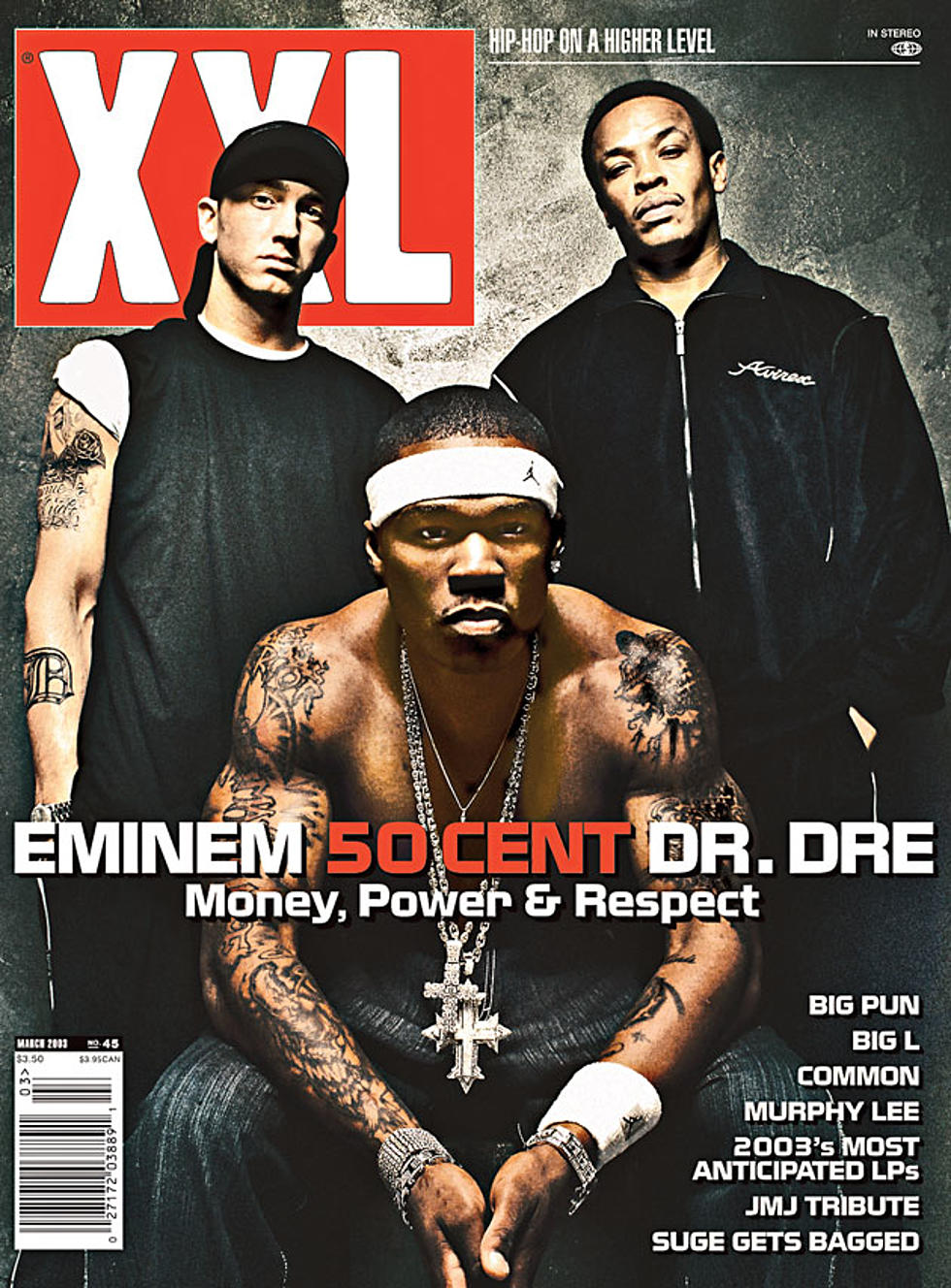 "From the Archives: Eminem, Dr. Dre & 50 Cent: ""Triple Threat ..."
