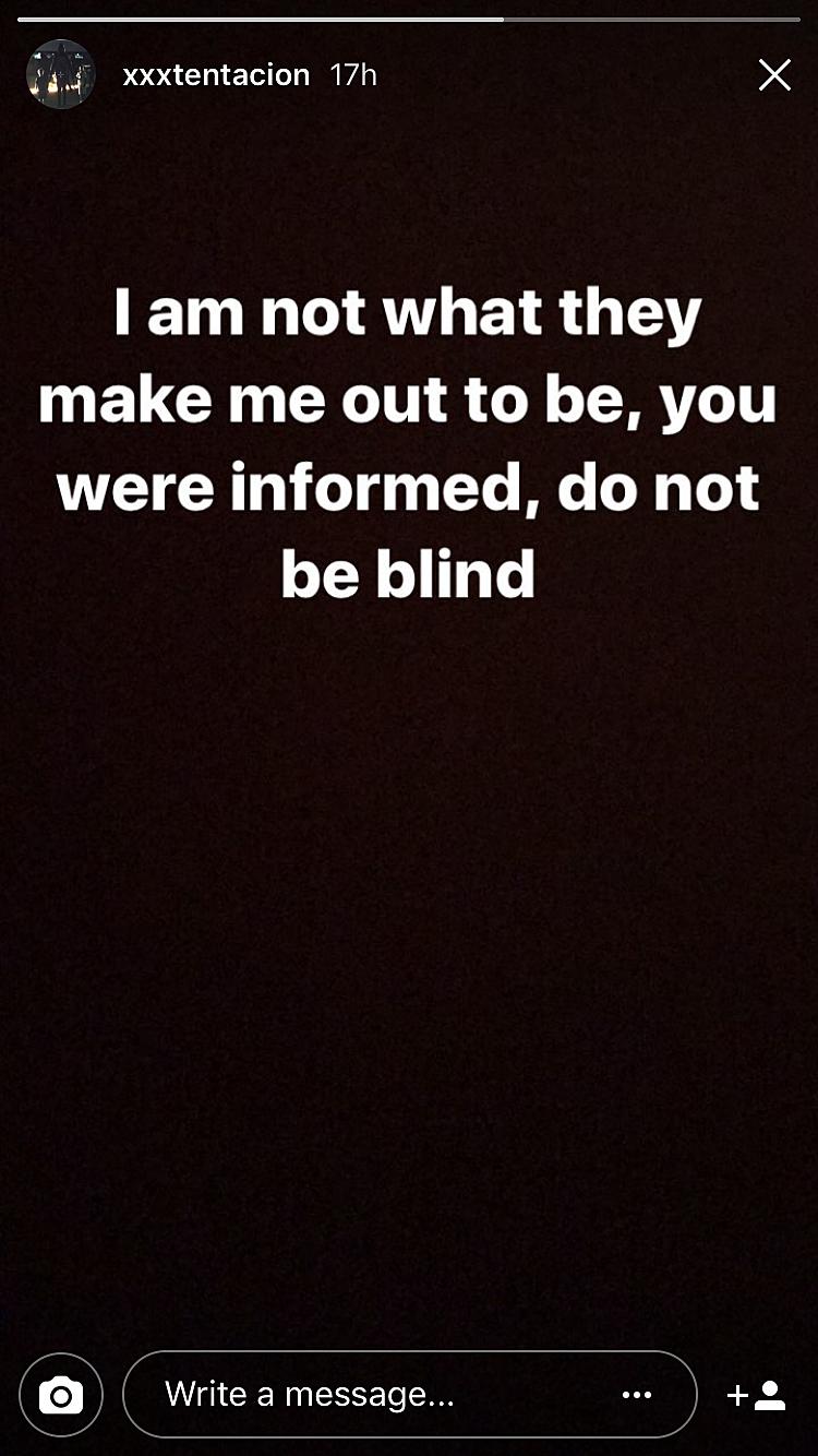 XXXTentacion via Instagram