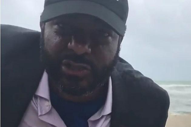 Jim Jones Reports Live as Hurricane Irma Hits Florida