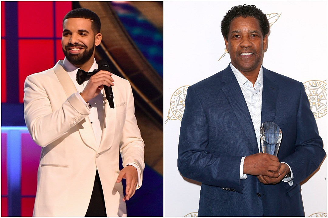 Drake Adds Denzel Washington To His Celebrity Tattoo Collection