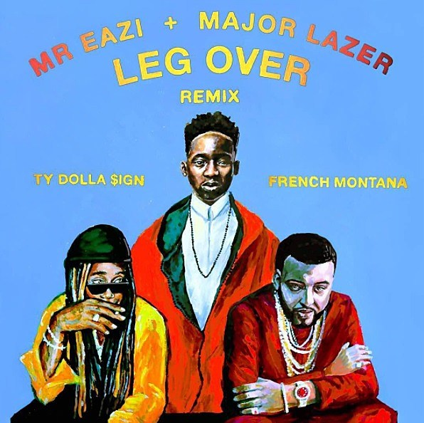 French Montana, Ty Dolla Sign and Major Lazer Spice Up Mr Eazi's