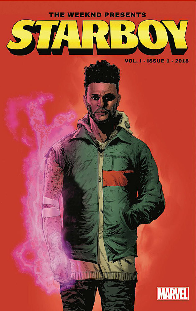 The Weeknd Teams Up With Marvel to Release 'Starboy' Comic Book