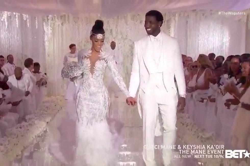 Image result for gucci mane and keyshia ka oir wedding