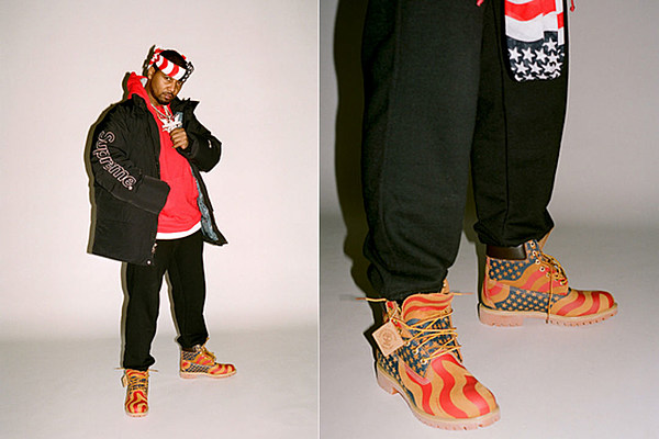 Juelz Santana Stars in Supreme and Timberland's New ... Timberland Boots