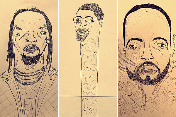 Australian Artist's Hilarious Drawings of Rappers Are Going Viral - XXL