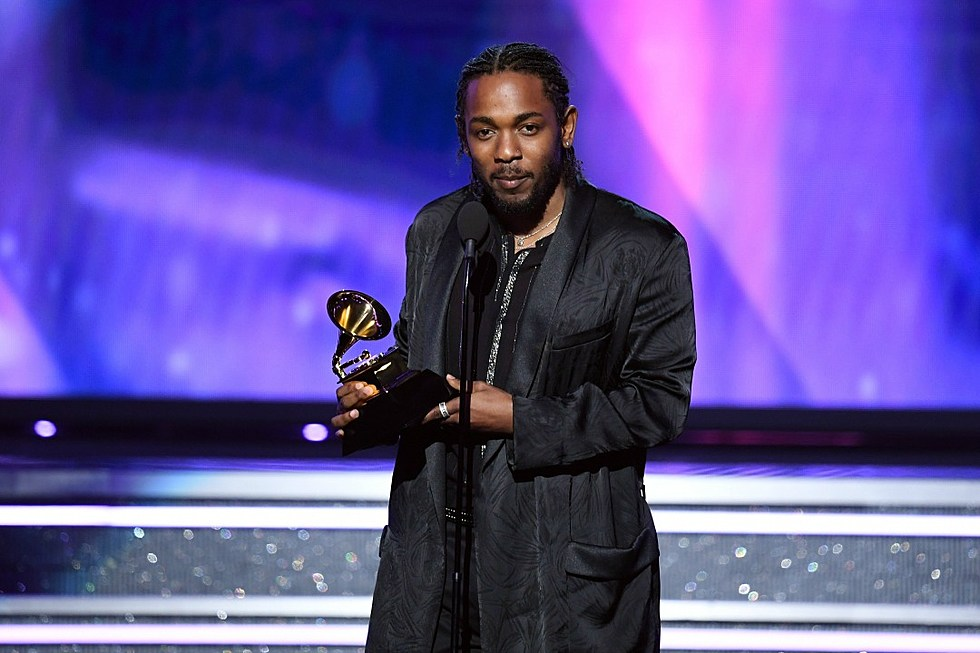Image result for grammy aWARDS KENDRICK 2018