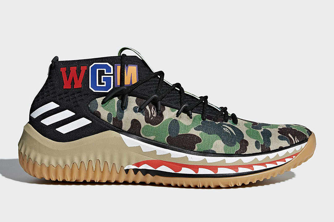 Bape to Release Adidas Dame 4 Collection