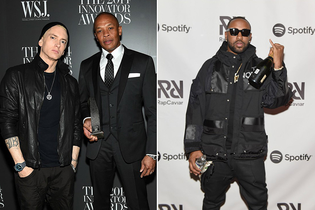 Eminem and dr dre hit the studio with mike will made it xxl m4hsunfo