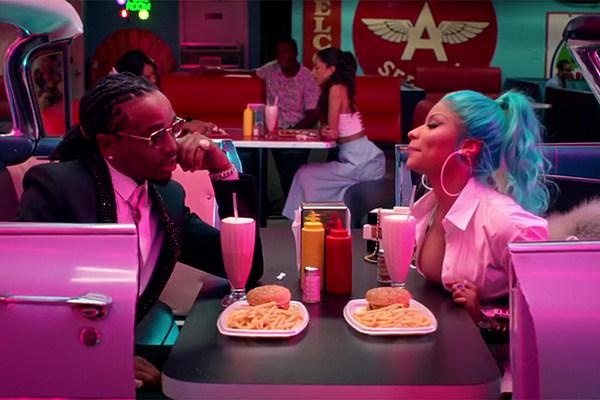 Quavo And Nicki Minaj Hit The Diner In She For Keeps