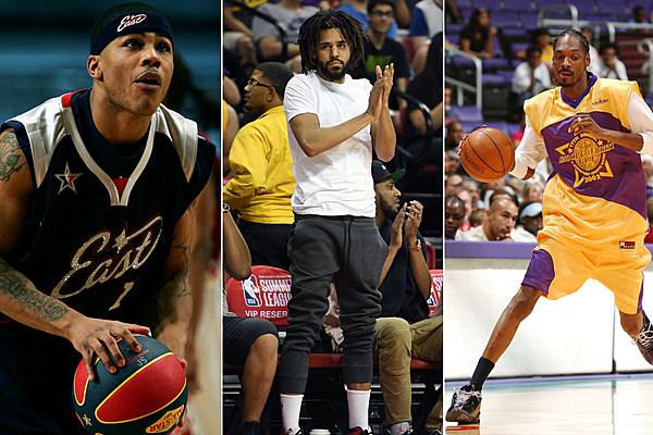 Hip hop celebrity basketball game