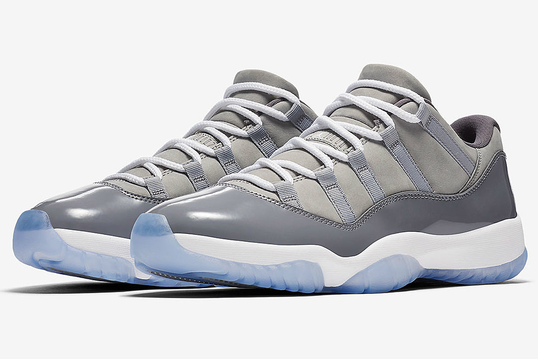 c11c5e617bf Top 5 Sneakers Coming Out This Weekend Including Air Jordan 11 Low Cool  Gray and More