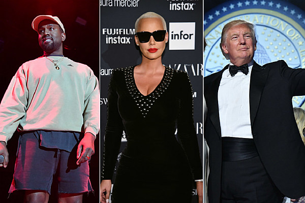 Amber Rose Thinks Kanye West, Trump Have Same Personality  - XXL