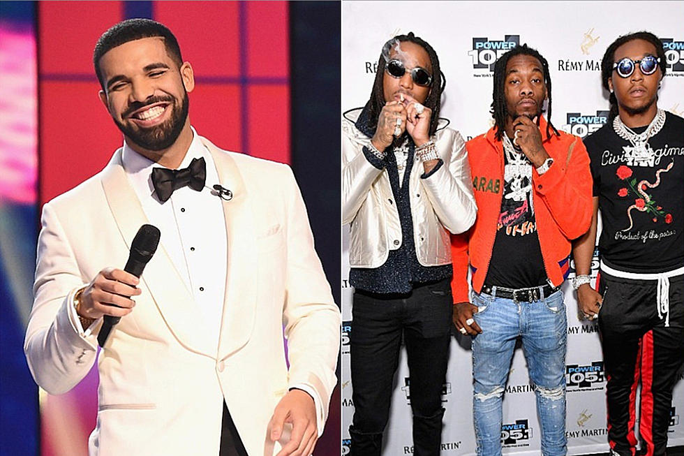 Drake and migos share aubrey and the three migos tour dates xxl drake and migos share dates for nationwide aubrey and the three migos tour m4hsunfo
