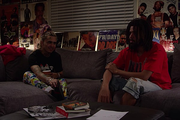 Watch J Cole And Lil Pump Interview Each Other Xxl