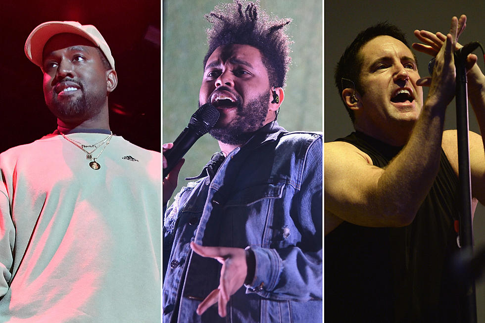 Kanye West, The Weeknd Accused of Copying Nine Inch Nails\' Style - XXL