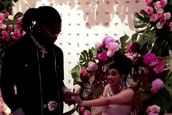 cardi b and offset throw bronx fairy tale baby shower in. Black Bedroom Furniture Sets. Home Design Ideas
