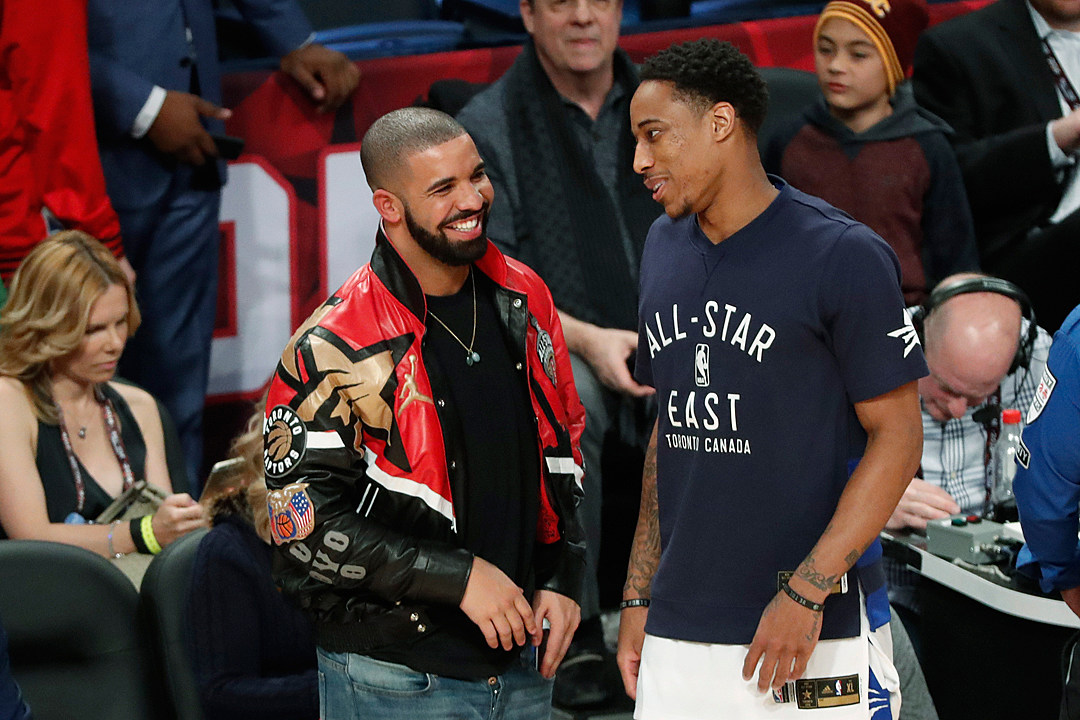 Drake Supported NBA Player DeMar DeRozan After He Was Traded