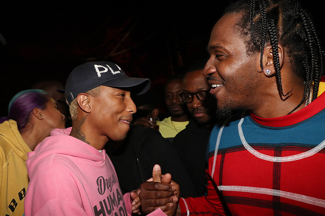 Pusha-T Marries Longtime Girlfriend and Makes Pharrell His Best Man