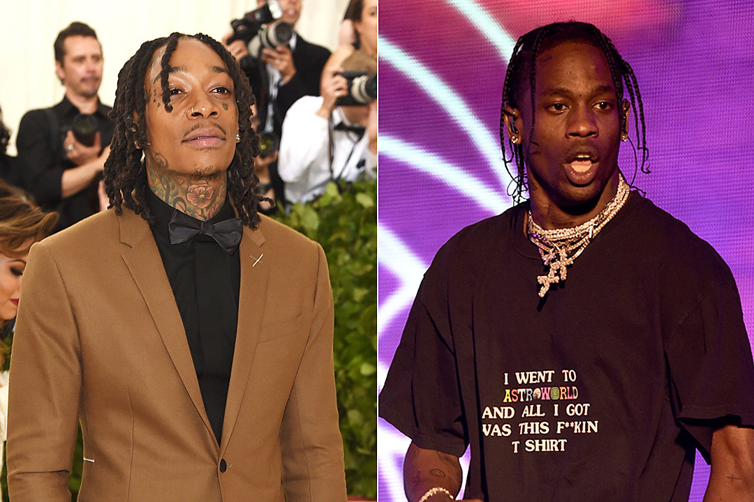 "6d0c5a447981 Wiz Khalifa ""Trippin"": Travis Scott Handles the Chorus on Dreamy New Song"