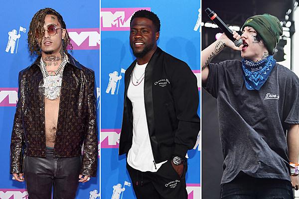 Kevin Hart Disses Lil Pump Amp Lil Xans Face Tattoos At MTV