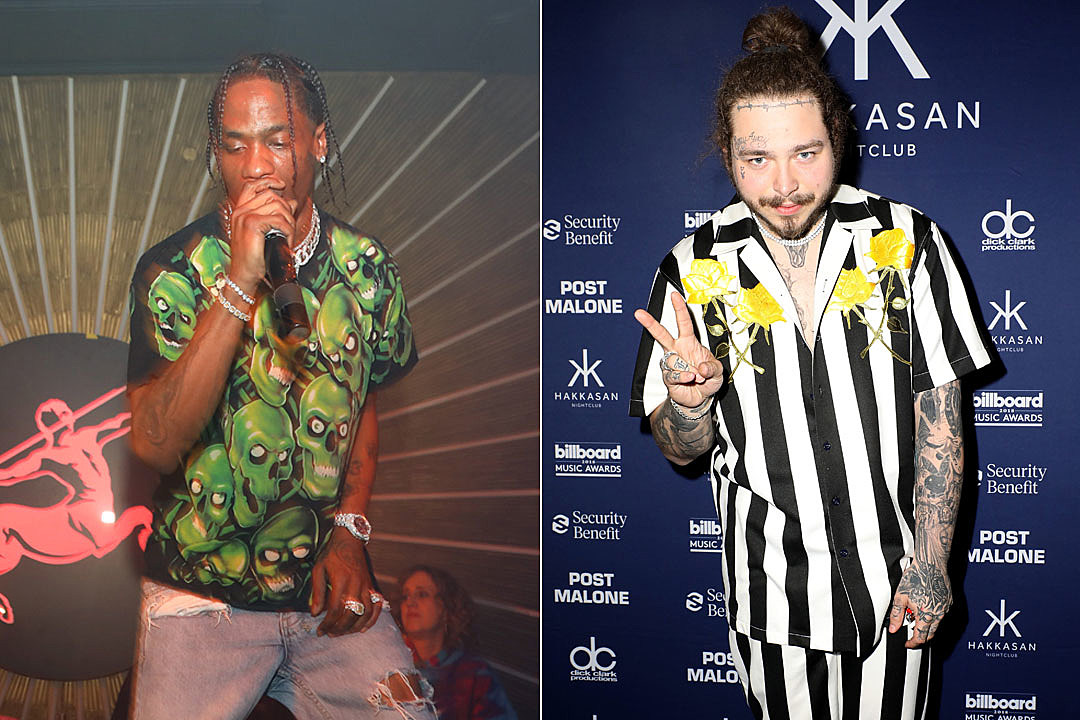 d77a70e855a7 Travis Scott to Headline Post Malone's First Annual Posty Fest –  Power102Jamz