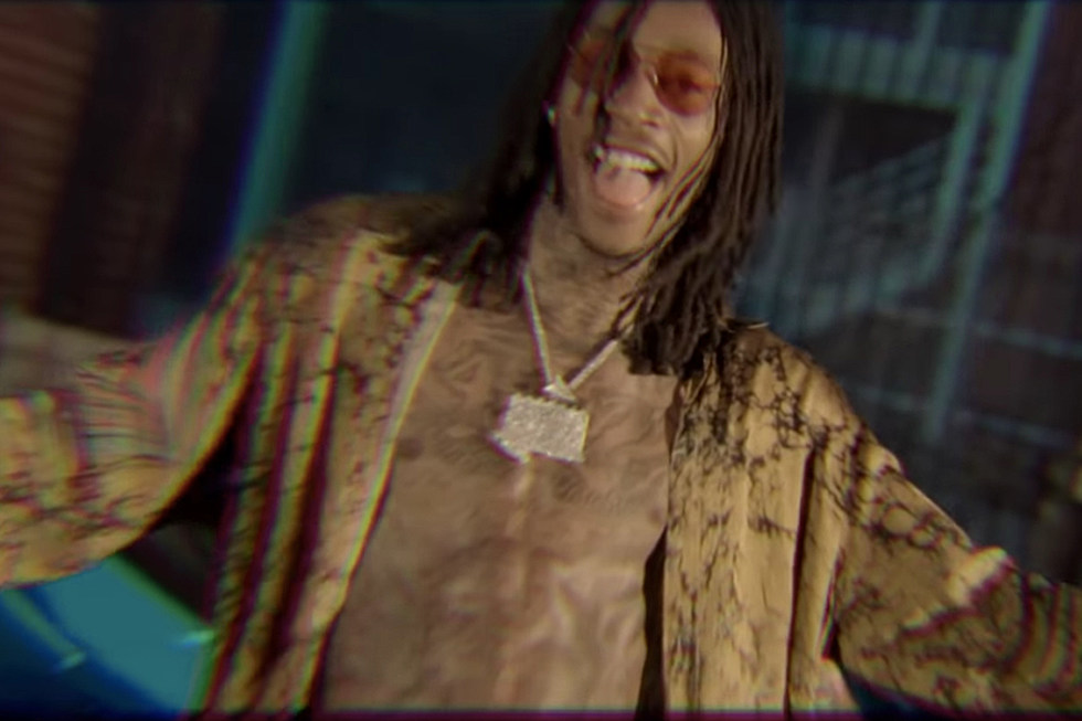 Wiz Khalifa Blue Hunnids Video Featuring Jimmy Wopo And Hardo Watch Rappers Hit The Club