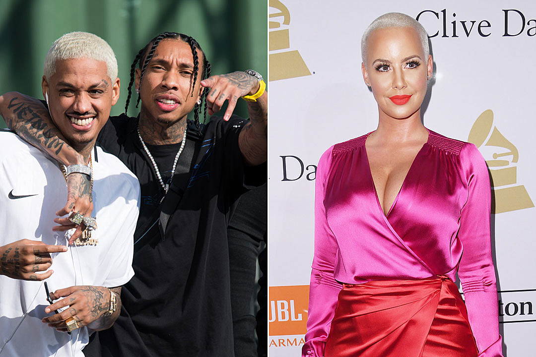 Who s amber rose dating who