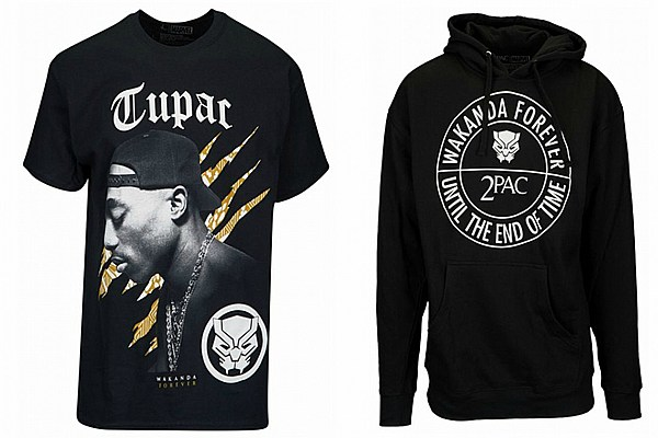 Tupac Shakur Meets 'Black Panther' in New Clothing Collection - XXL