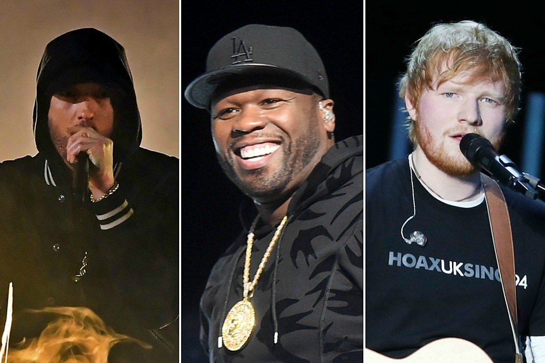 50 Cent Has a New Collab With Eminen and Ed Sheeran in the